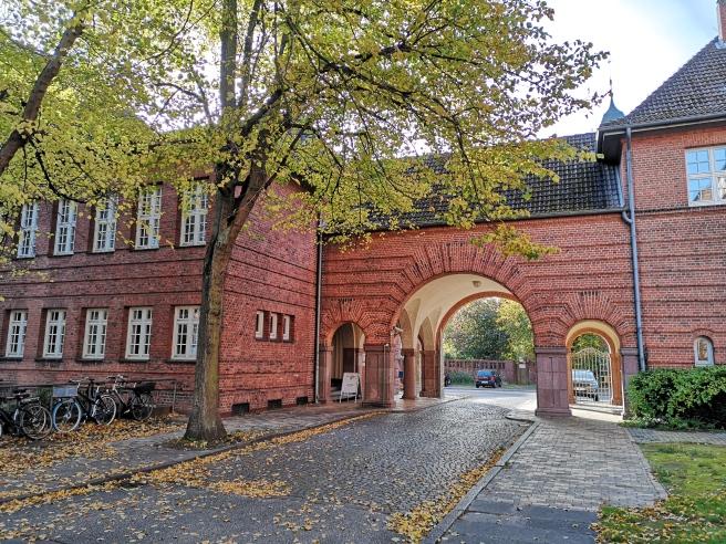 Zugang vom Innenhof