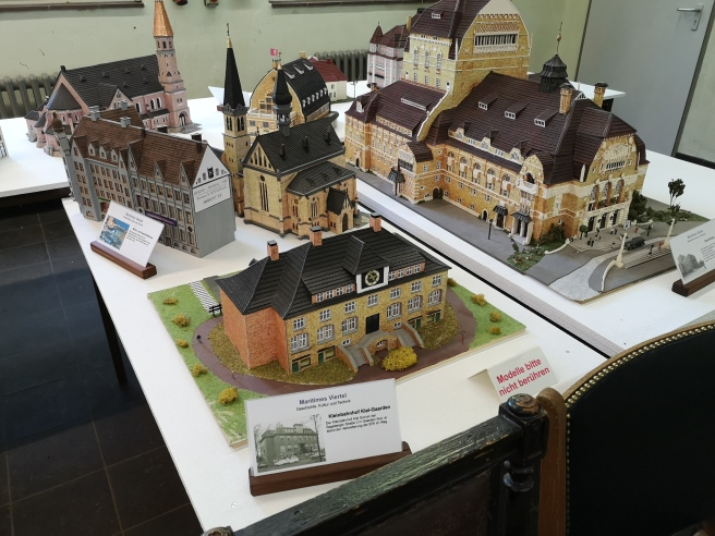 Modelle alter Kieler Gebäude